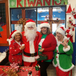 Santa and helpers Boys and Girls Club 20141206
